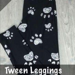 LulaRoe Tween Paw Print Leggings 🐾